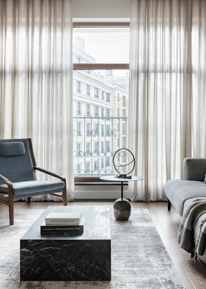 Фото №5 - Брутальная квартира для молодого холостяка 96 м²