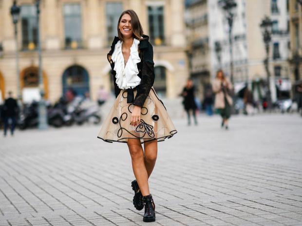 Фото №3 - Как носить прозрачные вещи: советы эксперта