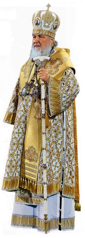 Фото №1 - Высшая лига: что значит облачение патриарха