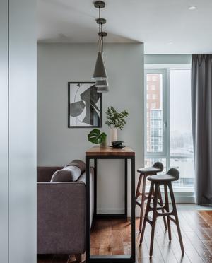 Фото №5 - Как уместить в однушке спальню, кабинет и гостиную: фото