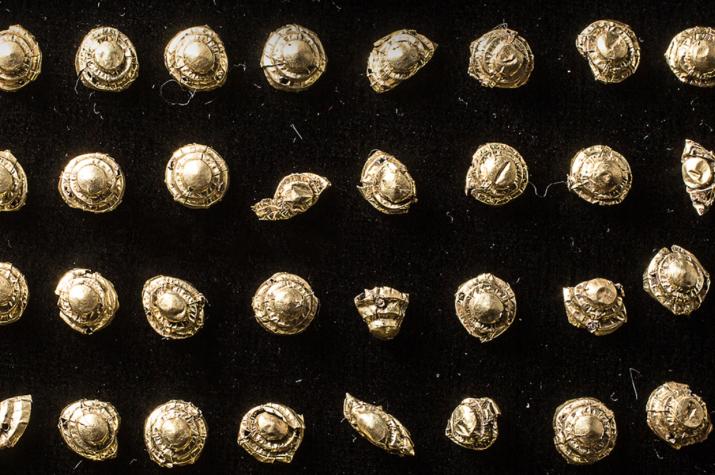 Фото №1 - В Туве обнаружили артефакты из золота
