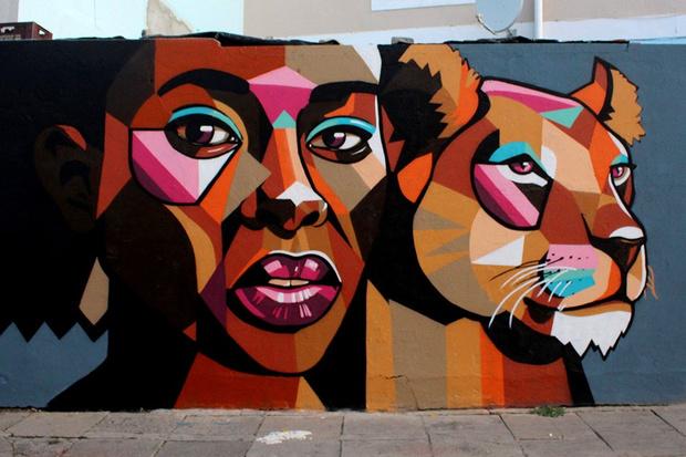 Фото №2 - You go, girl: 7 граффити, созданных женщинами о женщинах