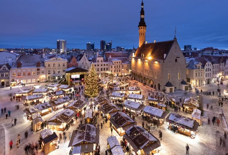 Фото №1 - Рождество в Эстонии: куда поехать, чтобы не пропустить веселье