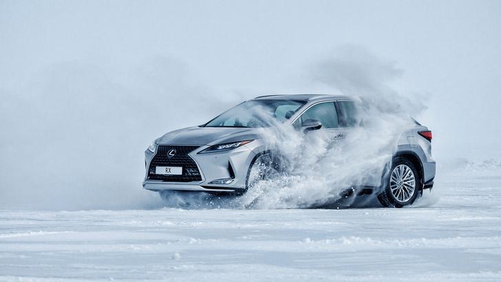 Фото №8 - Lexus покоряет Байкал: лед, вода и медные трубы