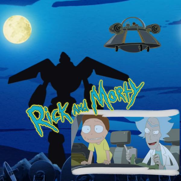 Фото №1 - У «Рика и Морти» появился специальный аниме эпизод 😍