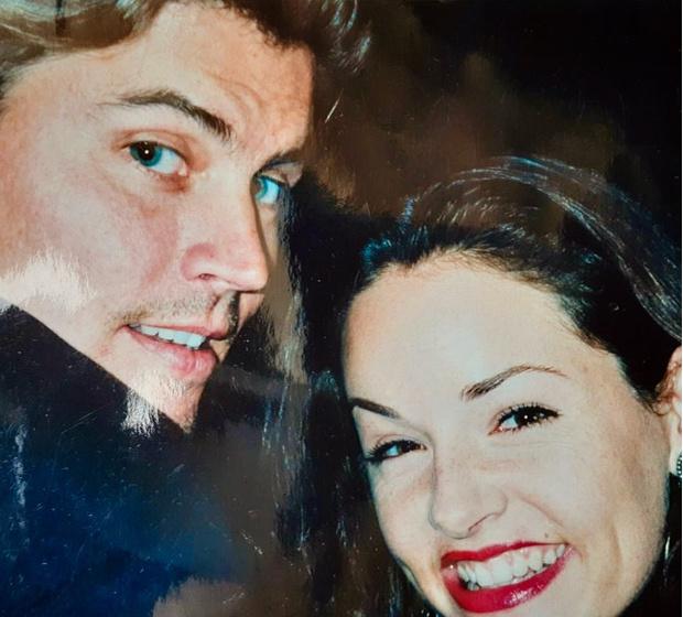 Фото №1 - Глаза папы, улыбка мамы: Коул Спроус показал фотографию родителей