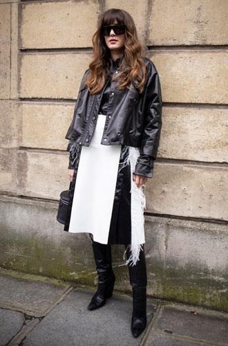 Фото №11 - С чем носить миди-юбки: 6 сочетаний, которые нужно попробовать