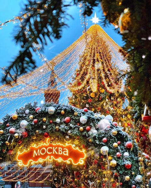 Фото №1 - Где в Москве сделать лучшее новогоднее селфи