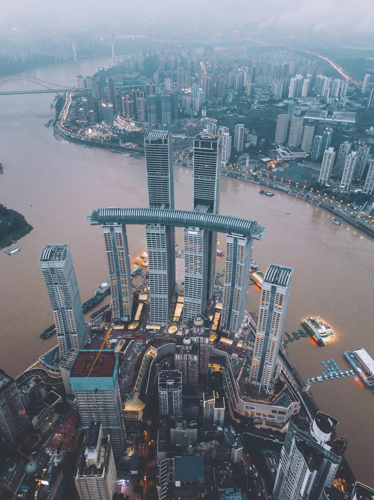 Фото №3 - Горизонтальный небоскреб в Чунцине
