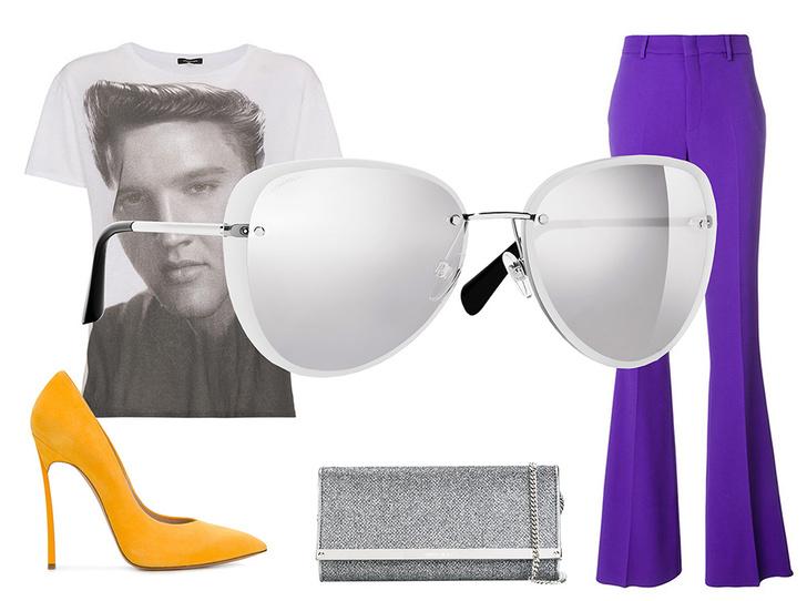 Фото №42 - Победа по очкам: 5 модных образов с главным летним аксессуаром
