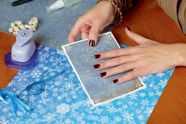 Фото №4 - Мастер-класс: Делаем открытку и упаковываем подарок