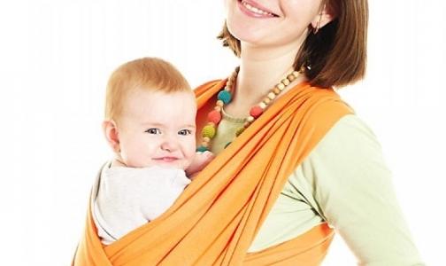 Фото №1 - Не носите детей в слингах лицом вперед