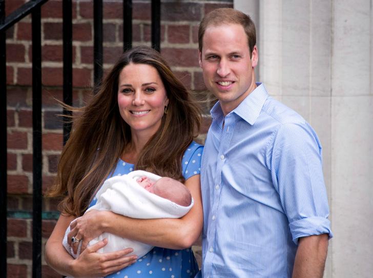 Фото №1 - Что Уильям дарил Кейт после рождения каждого из их детей