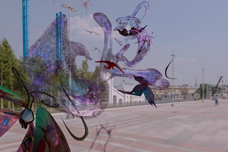 Фото №3 - 5 AR-работ фестиваля Rosbank Future Cities