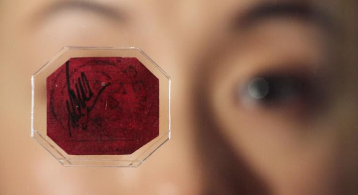 Фото №2 - «Святой Грааль», «Перевернутая Дженни» и еще 3 самые дорогие почтовые марки в мире