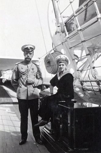 Фото №17 - Милые и забавные архивные фото царской семьи Романовых