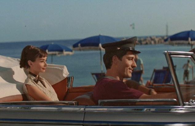 Одри Хепберн (Audrey Hepburn) появилась в рекламе шоколада