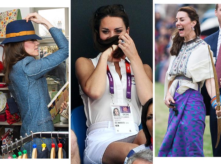 Фото №1 - Это надо видеть: 14 случаев, когда Кейт Миддлтон забыла, что она— герцогиня