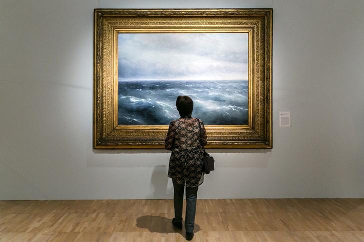 Фото №1 - В Третьяковской галерее открывается  многогранная выставка Айвазовского