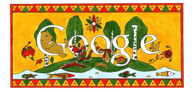 Фото №28 - «Дудл для Google — 2015»: 30 лучших рисунков