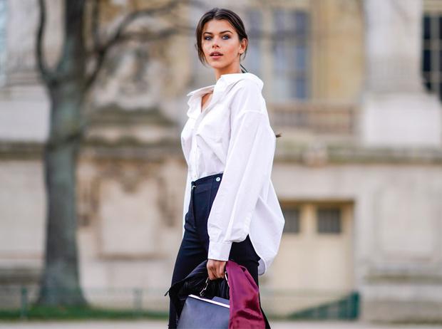 Фото №1 - С чем носить белую рубашку: стильные идеи на любой случай