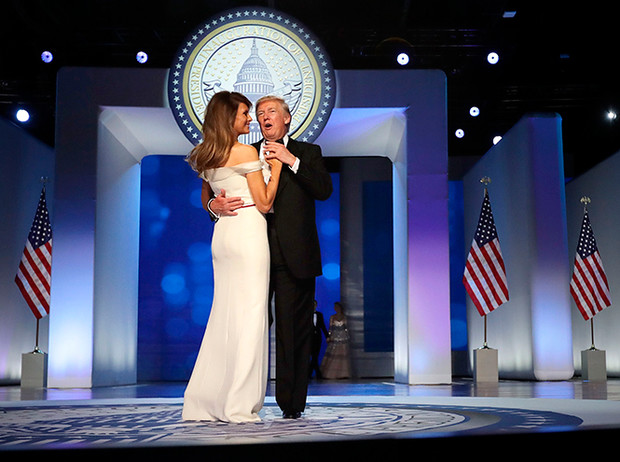 Фото №10 - Рождение fashion-звезды: Мелания Трамп на инаугурации