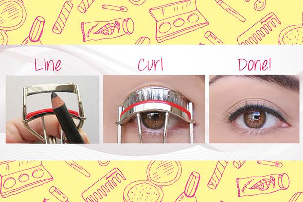 Фото №3 - Beauty Hack: Как нарисовать ровные стрелки