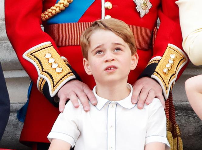 Фото №18 - Принц Джордж Кембриджский: шестой год в фотографиях