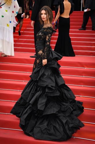 Фото №49 - Модные Канны-2017: Винни Харлоу, Адриана Лима и другие красавицы вечера премьер 18 мая