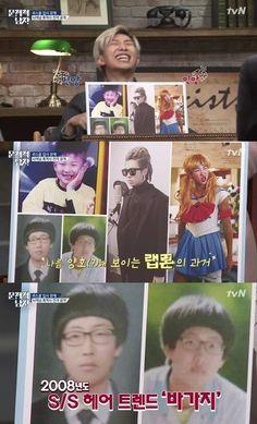 Фото №1 - RM из BTS показал фанатам свою самую неудачную прическу