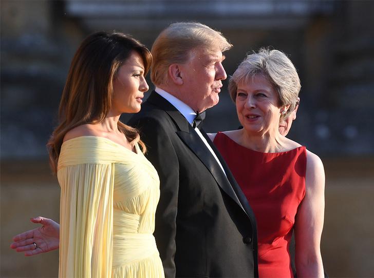 Фото №12 - Мелания Трамп «украла шоу» на гала-ужине в Бленхеймском дворце