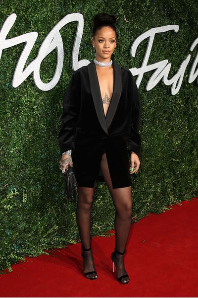 Рианна на церемонии British Fashion Awards 2014