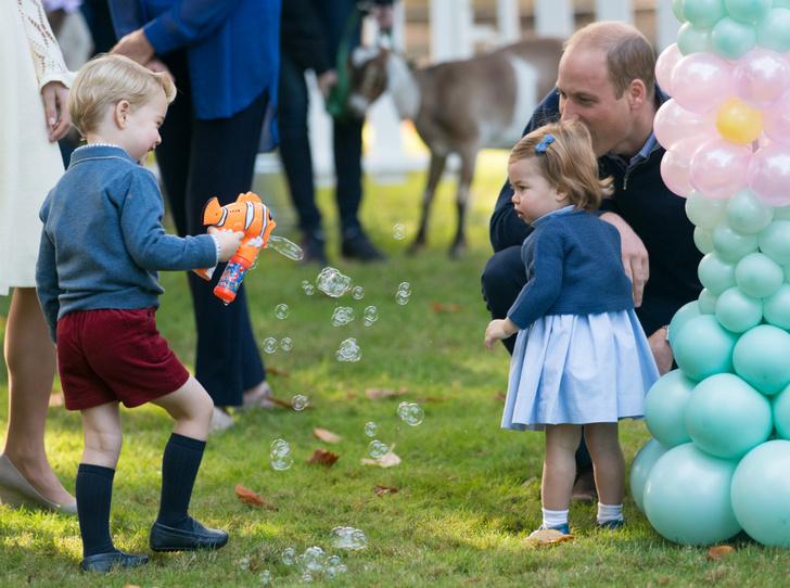Фото №2 - «Моя любимая принцесса»: принц Уильям и его трогательные отношения с Шарлоттой