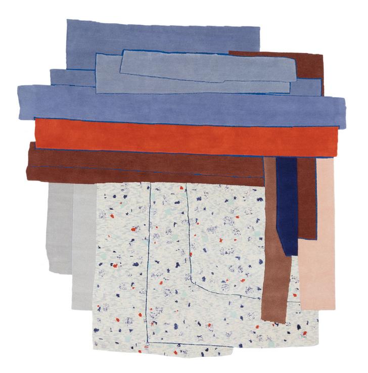 Фото №1 - Gesture: коллекция ковров cc-tapis как художественное высказывание