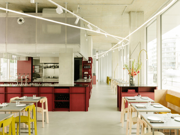 Фото №1 - На контрасте: ресторан Remi в Берлине