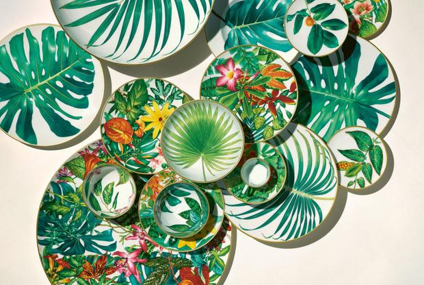 Фото №2 - Интервью с создателями новой коллекции фарфора Passifolia от Hermès