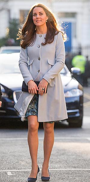 Фото №15 - В модном положении: две беременности герцогини Кембриджской (сравним?)