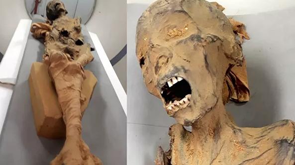 Фото №1 - Ученые раскрыли тайну «кричащей мумии»