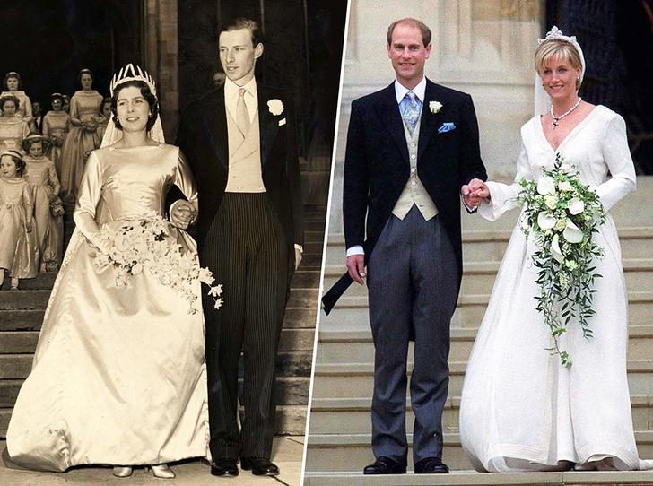 Фото №1 - Королевские пары, которые поженились в Виндзоре задолго до Евгении и Джека