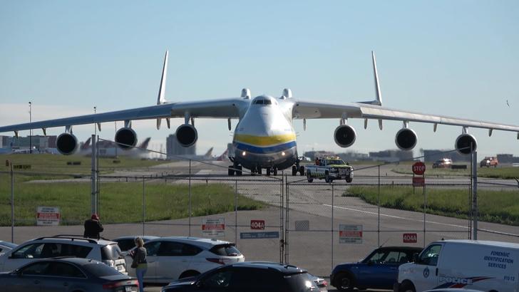 Фото №1 - Энтузиаст из Канады назвал видео со взлетом самого большого в мире советского Ан-225 «лучшим видео» из всех, что он снял