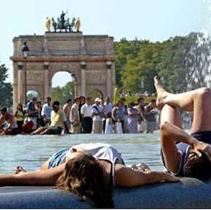 Фото №1 - Европу одолела жара